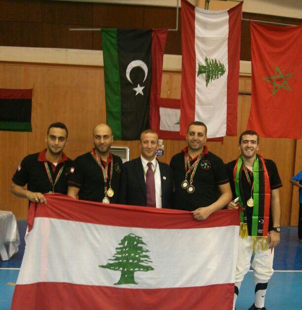 Tanios Atallah, Ziad Jalbout, Bahij Charanek, Chafic El Khoury,  Tanios El Najjar